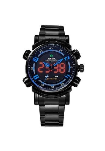 Weide blue Analog Watch WH1101B-4C WE088AC79KSEPH_1
