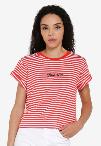 dfdca169c Buy Jack Wills Milsom Cropped T-Shirt Online on ZALORA Singapore