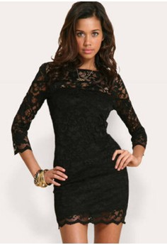 maria black lace dress