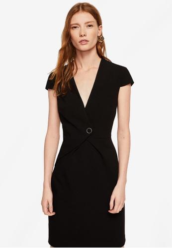 Mango black Buttoned Dress 38AEFAA99E6258GS_1
