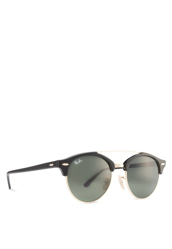 d051d228a9491 Buy Ray-Ban Clubround Double Bridge RB4346 Sunglasses Online ...
