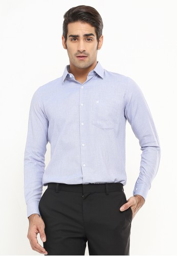 Johnwin purple Johnwin - Regular Fit - Kemeja Formal - Lengan Panjang - violet DD252AAF9E3EC9GS_1