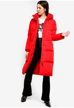 e371b15e419c 40% OFF Guess Guess Classic Logo Hooded Long Down Jacket S  790.00 NOW S   473.90 Sizes XS S