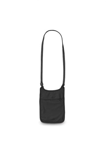 Pacsafe black Pacsafe Coversafe S75 Secret Neck Pouch (Black) 2B1AFAC3CFCB70GS_1