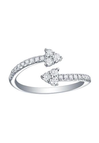Smiling Rocks white 10K White Gold 0.36ct Lab Grown Diamond Essentials Ring 2A00CAC1F3FAB4GS_1