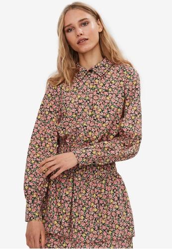 Vero Moda pink Ellie Long Sleeves Shirt 41CD2AADADCA3EGS_1