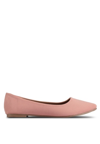 Rubi pink Primo Point Flats 06AB7SHCEBB85AGS_1
