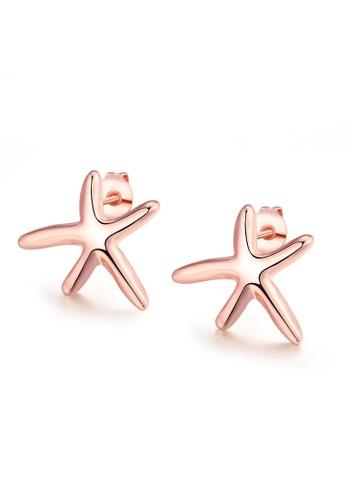 Tiaria gold Tiaria Earrings AKE024 Aksesoris Perhiasan Anting Lapis Emas Rose CF977AC6CEB334GS_1