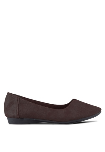Louis Cuppers brown Casual Flats LO977SH02REFMY_1