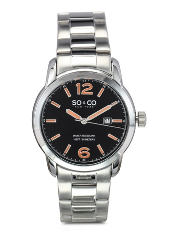 SO&CO silver Madison Watch 5011B SO540AC0SHLIMY_1