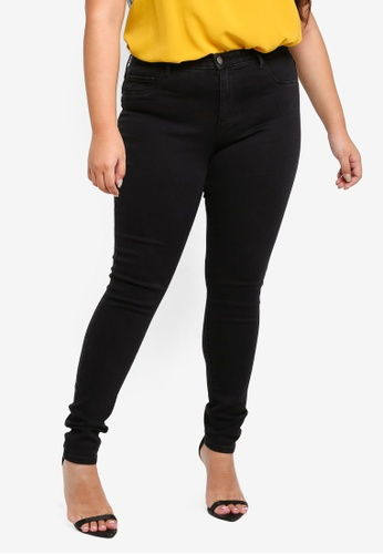 ef368dbfc Shop Only CARMAKOMA Plus Size Thunder Push Up Skinny Jeans Online on ZALORA  Philippines