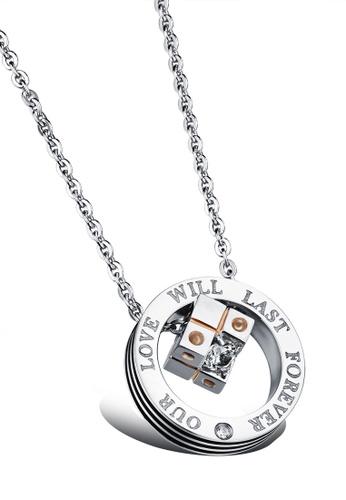 Trendyshop gold Pendant Necklace - Gold DFAD0AC009AA2CGS_1
