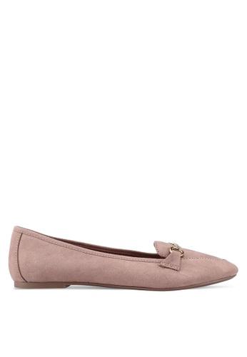 Dorothy Perkins pink Pink Louie Snaffle Loafers 5ECF6SHA4EEFBAGS_1