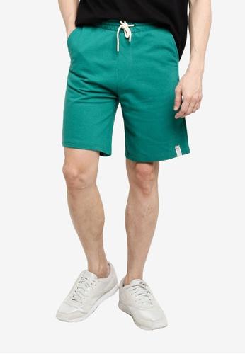 KOTON green Sweat Shorts 085C4AA4F5D52CGS_1