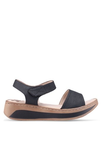 Louis Cuppers black Casual Sandals 6D5F6SHDCE7DFCGS_1