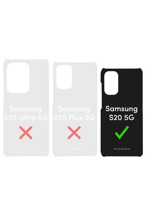 Polar Polar 靛藍古瓶雙層光面手機殼 Samsung Galaxy S20 5G