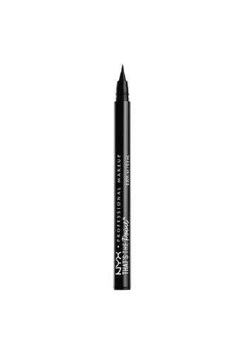 NYX Professional Makeup black NYX Professional Makeup That's The Point Eyeliner - Hella Fine 5B3C7BEE4A2F71GS_1