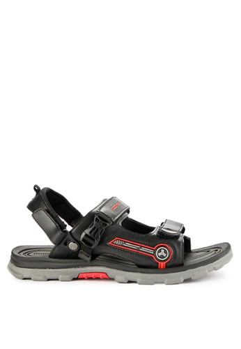 Homyped black Alpen 02 Men Sandal Gunung 2B49FSH60BCFC7GS_1