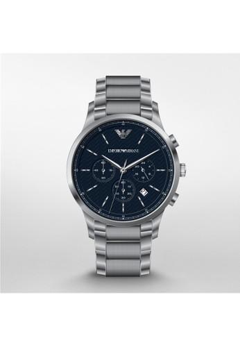 Emporio Armani RENATO經典時尚系列腕錶 AR248esprit outlet 高雄6, 錶類, 時尚型