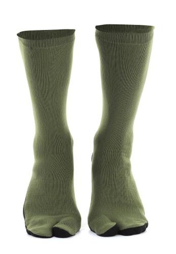 Hamlin green Hamlin Nercyla Kaos Kaki Wanita Toe Socks Two Tone Casual Footwear Material Spandex ORIGINAL 6F048AACA1CCE4GS_1
