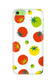 Tomatoes Glossy Hard Case for iPhone 5c