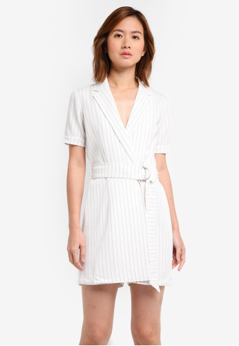 ZALORA white Formal Playsuit 7571DAA006D118GS_1