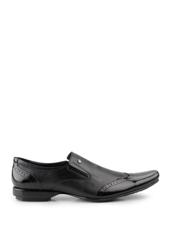 Marelli black Yoseph Formal Shoes MA036SH18MMZID_1