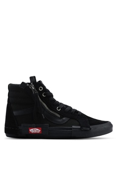 bb2c6175b43 VANS black SK8-Hi Reissue CAP Checkerboard Sneakers 6CD5ASH96540CCGS 1