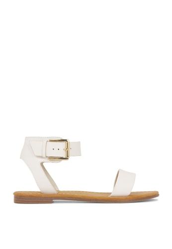 ROC Boots Australia white Enza White Sandal RO517SH92QPFHK_1