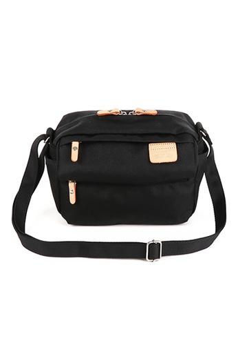 Harvest Label black Harvest Label Lycee Style Mini Shoulder Bag - Black 37A55AC4D90992GS_1
