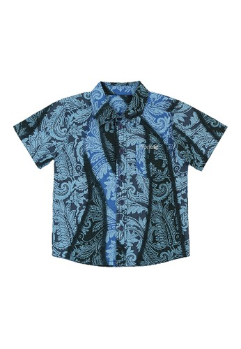 Torio blue Torio Indonesian Smart Casual Blue Batik - Kemeja Batik Anak Laki-Laki 9FB19KAB43CDF4GS_1