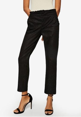 MANGO grey Oiled Shiny Trousers E2AEAAA9651350GS_1