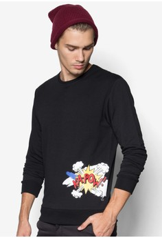 Pop Text Sweatshirt
