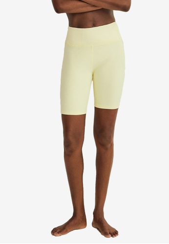 Mango yellow Breathable Sports Leggings 6738DAABD5FA49GS_1