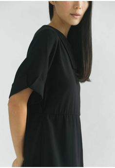 89113f8a4441e5 SALIENT LABEL Harris Front Flap Dress in Black S  86.00. Sizes S M L XL XXL