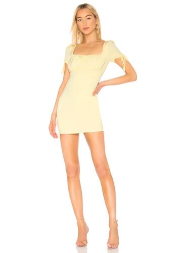 8b33188905b52 superdown yellow Camille Mini Dress(Revolve) E7F88AAA1AB31FGS 1