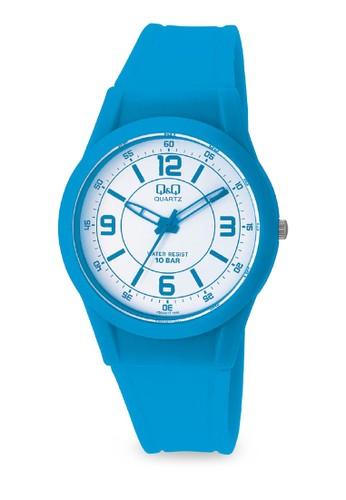 Q&Q VQ50J019 彩色手錶, 錶類, 其esprit 香港它錶帶