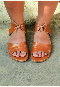 Aparador Nude Brown Sandals