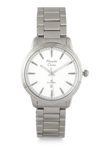 Alexandre Christie silver Alexandre Christie Jam Tangan Wanita - Silver White - Stainless Steel - 8556 LDBSSSL 1B99BACC30AB97GS_1