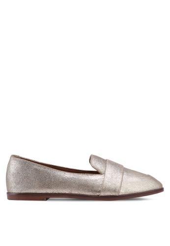 Kenneth Cole gold Glide Slide Loafers 23ECESHA9F18EFGS_1