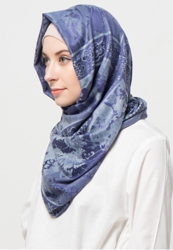 SHALIMAR blue Shalimar Pashmina Jasmine Style SH713AA03CLKID_1