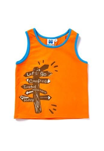 Vauva orange Vauva Hauska Boys Directory Vest - Orange 2B724KA8C836C3GS_1