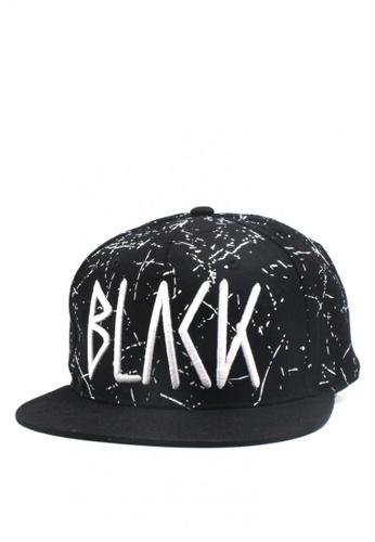 Cap City International black BLVCK Unisex Hip Hop Snapback Cap CA260AC0JG6FPH_1