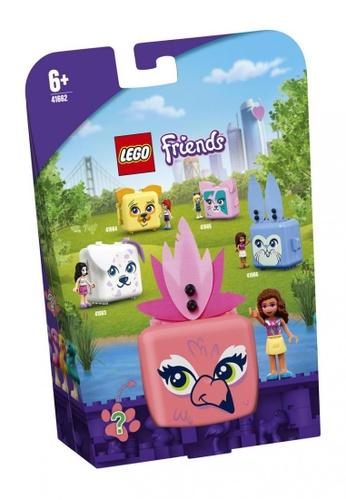 LEGO multi LEGO Friends 41662 Olivia's Flamingo Cube (41 Pieces) 0B549TH95C2A7CGS_1