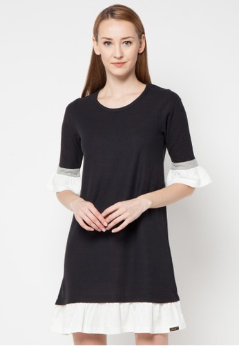 Gaff black Dress Frill Sleeves GA640AA56NHBID_1