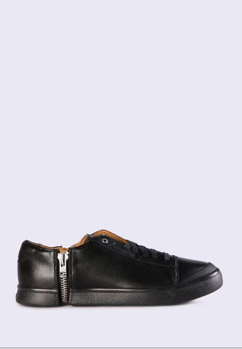 Diesel black S-Nentish Low Sneakers 40D4DSH3B623CFGS_1
