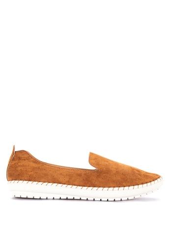CLN brown Fairness Loafers B240CSH61B9211GS_1