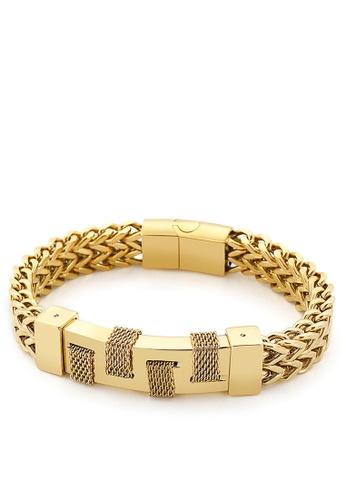 HAPPY FRIDAYS Stylish Stainless Steel Bracelet KL139686 B7FFAAC9EAE316GS_1