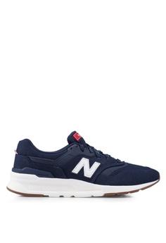 3d627769a220 New Balance navy 997H Lifestyle Shoes F0BDBSH3FD40E1GS 1