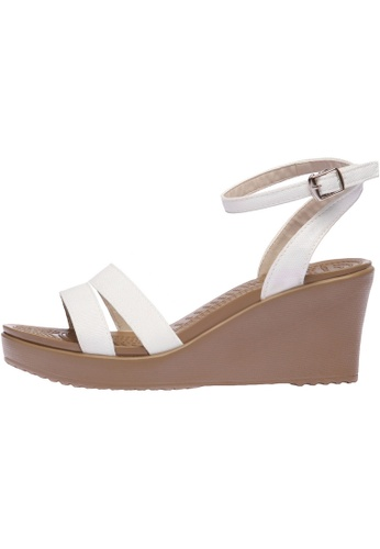 paperplanes white SNRD-212 Women Fashion Ankle Strap Aqua Wedge Sandals Shoes PA110SH90OYJHK_1